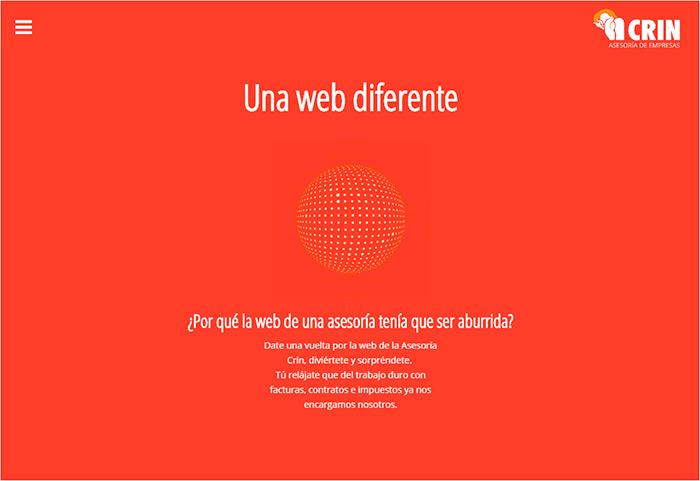 Web Asesoría de empresas Crin