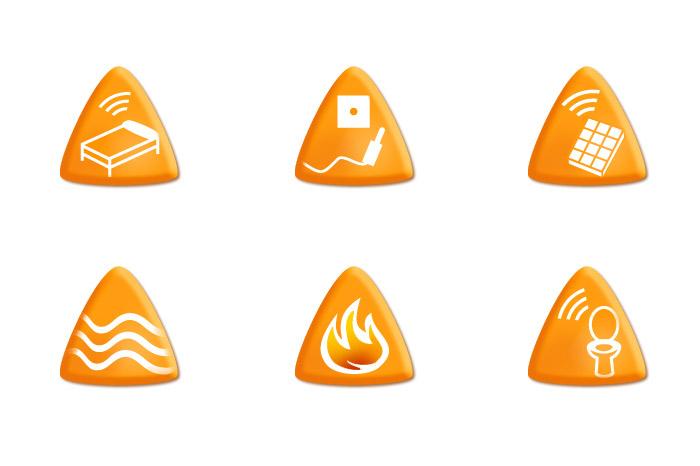 iconos alertas aid